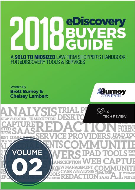 LexTech Buyers Guide Cover