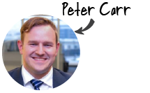 Peter Carr, Area Business Development Manager